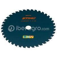 Disco cortahierbas STIHL 250-40 metal duro
