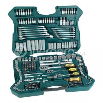 Maletín herramientas Mannesmann 215 pzs.