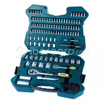 Maletín herramientas Mannesmann 115 pzs.