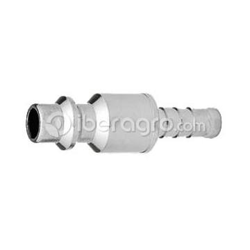 Conector con espiga 8 mm