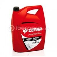 Aceite CEPSA Diesel Turbo 15W40 5 l