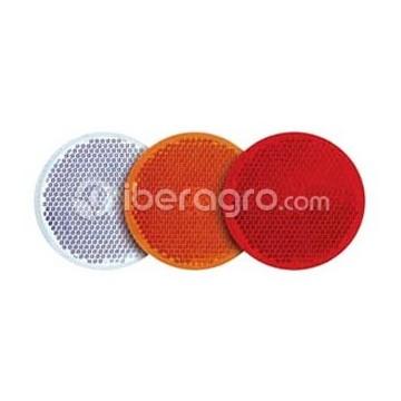 Catadióptrico redondo adhesivo
