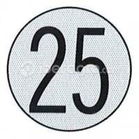 Disco limitación velocidad 25 Km/h