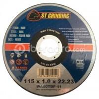 Disco corte metal 115x1,0x22,23