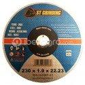 Disco corte metal 230x1,9x22,23