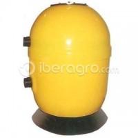 Abonadora goteo poliester 120 litros