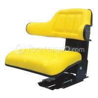 Asiento Basic Line PVC amarillo