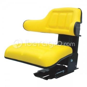Asiento universal Basic Line PVC amarillo