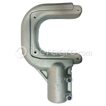 Gancho aluminio con tornillos Cifarelli 32 mm