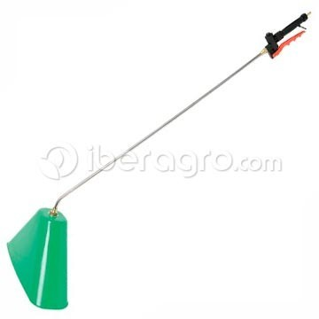 Lanza herbicida acero campana rectangular 80 cm