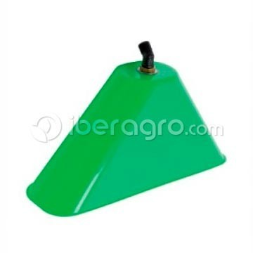 Campana rectangular con codo y boquilla