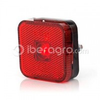 Piloto de galibo led rojo