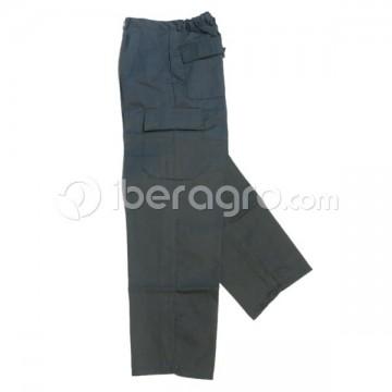 Pantalón de trabajo 6 bolsillos gris