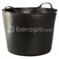 Capazo / Cesto 42 litros negro