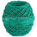 Macarrón ovillo PVC verde 3,5 mm