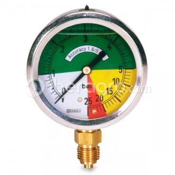 Manómetro glicerina isométrico inox. 63 mm