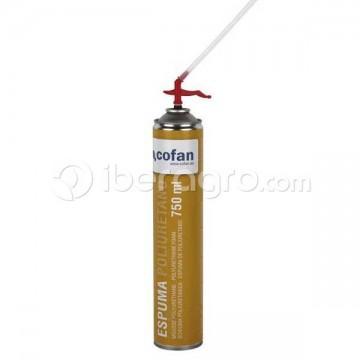 Espuma de poliuretano spray 750 ml