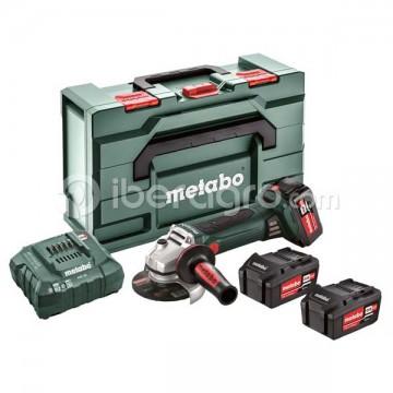 Amoladora angular Metabo W 18 LTX 125 Quick Set