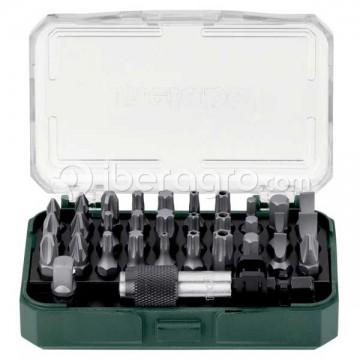 Caja de puntas Metabo LC 32 piezas