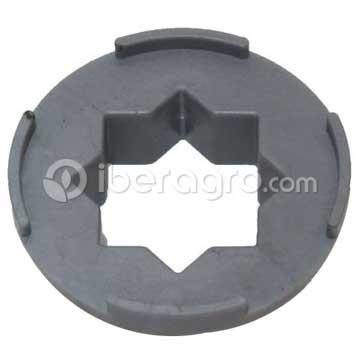 Separador fibra goma estrella peladora