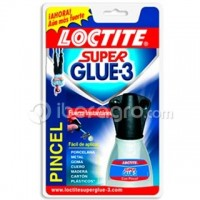 Loctite Super Glue-3 Pincel
