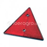 Triángulo rojo reflectante