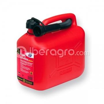 Bidón combustible polietileno 5 litros