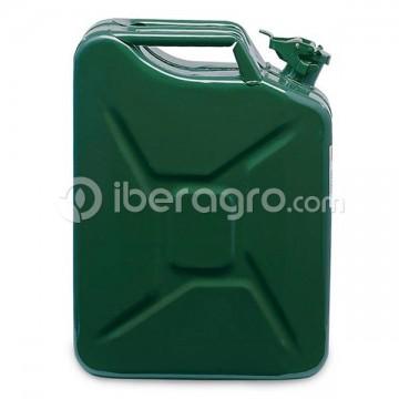 Bidón combustible metal 10 litros